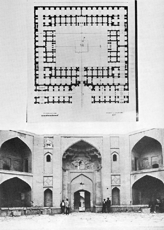 Isfahan Xii Bazaar Plan And Function Encyclopaedia Iranica