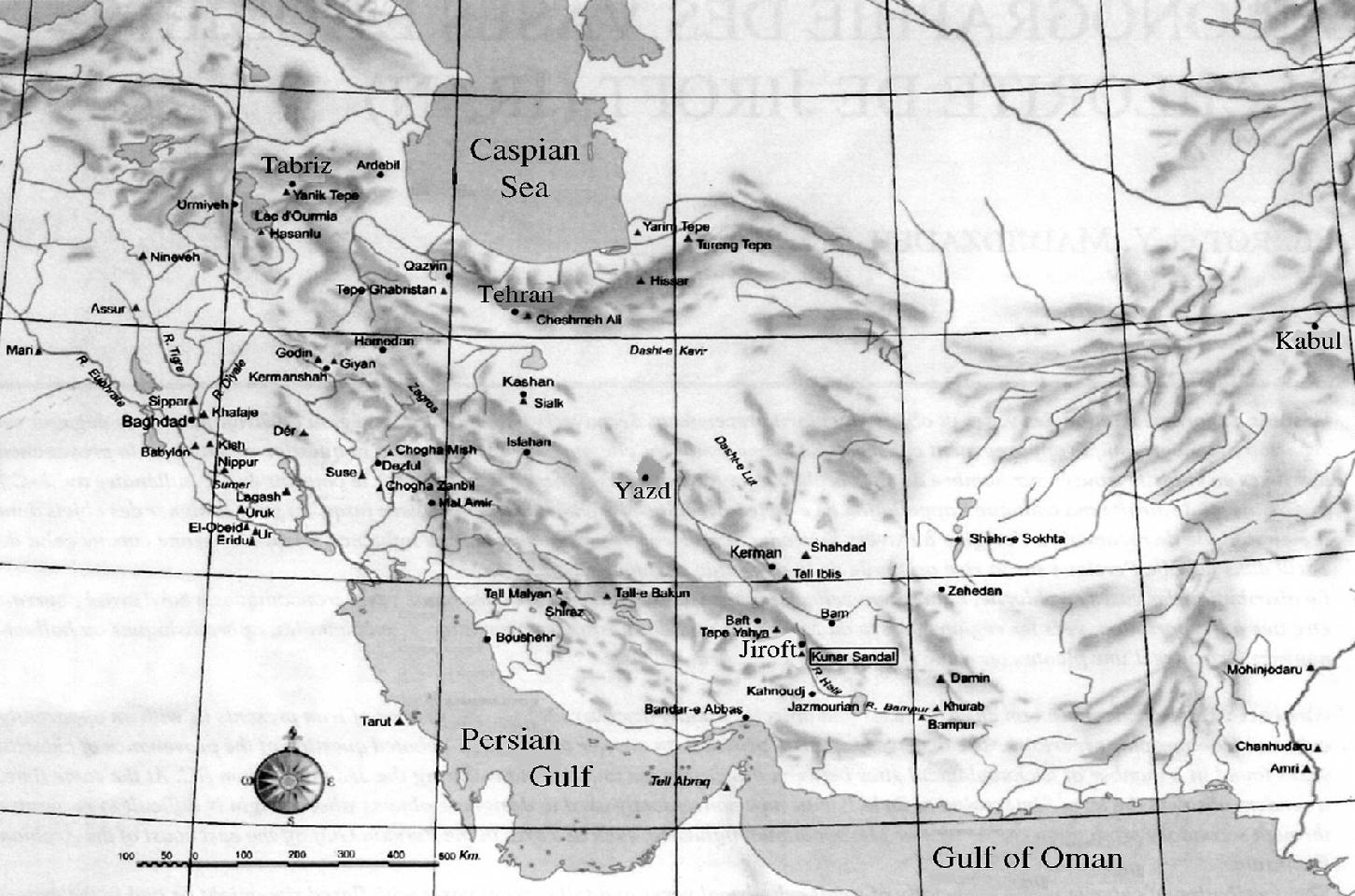 Image result for jiroft map
