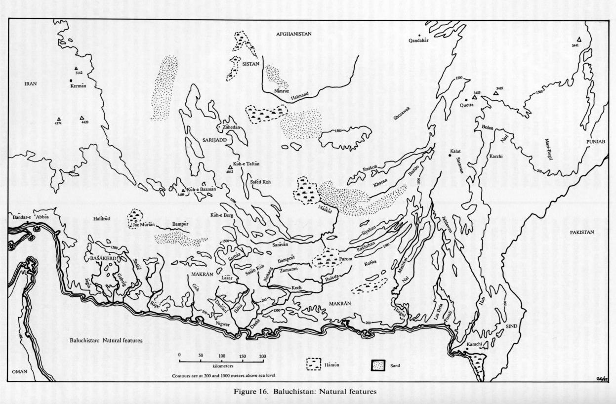 BALUCHISTAN i  Geography, History Ethnography – Encyclopaedia Iranica