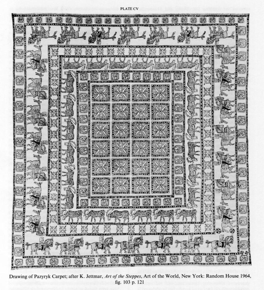CARPETS Vi Pre Islamic Carpets Encyclopaedia Iranica