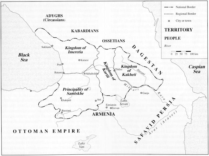 Paris Georgia Map.History Of Iranian Georgian Relations Encyclopaedia Iranica