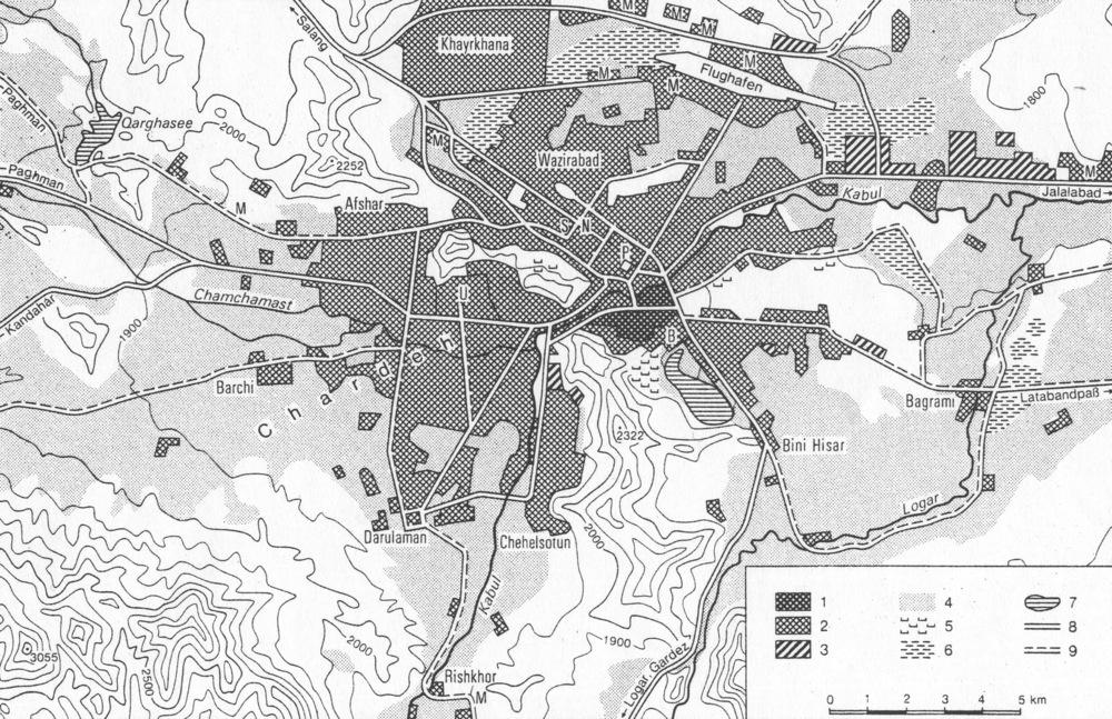 Kabul Ii Historical Geography Encyclopaedia Iranica