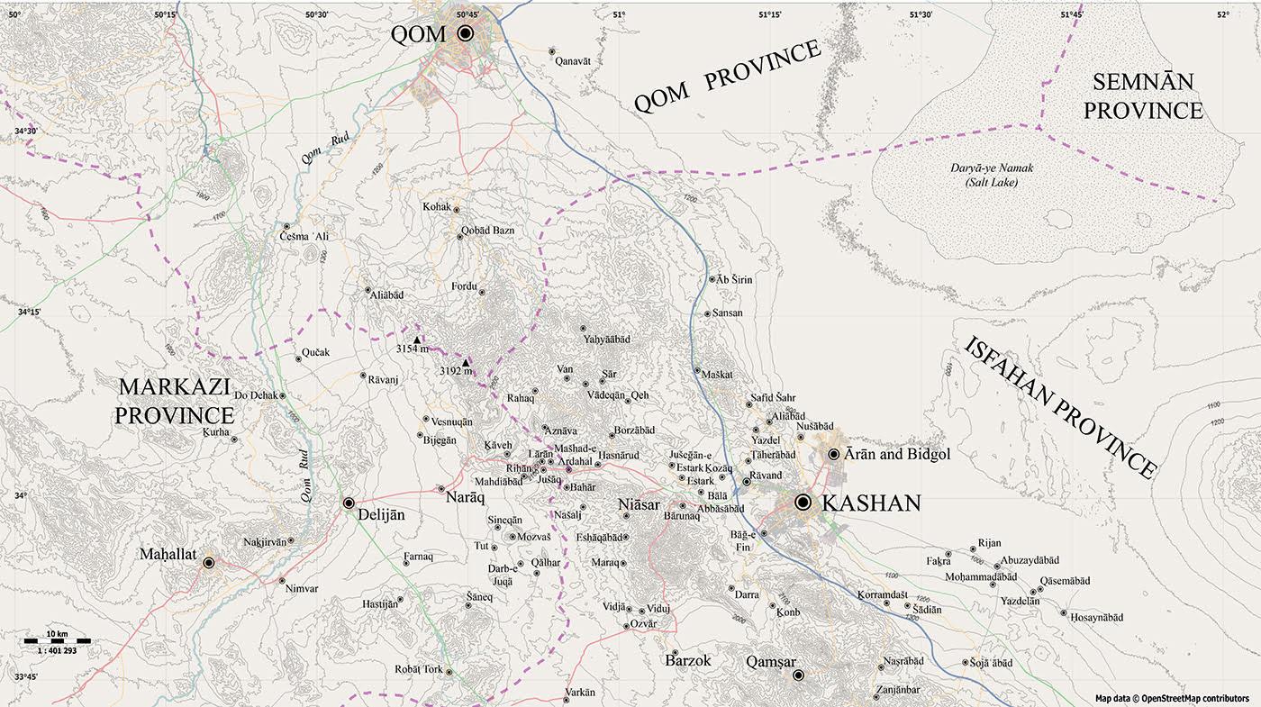 KASHAN iii  History to the Pahlavi Period – Encyclopaedia Iranica