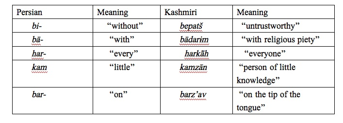 kashmiri language example 1