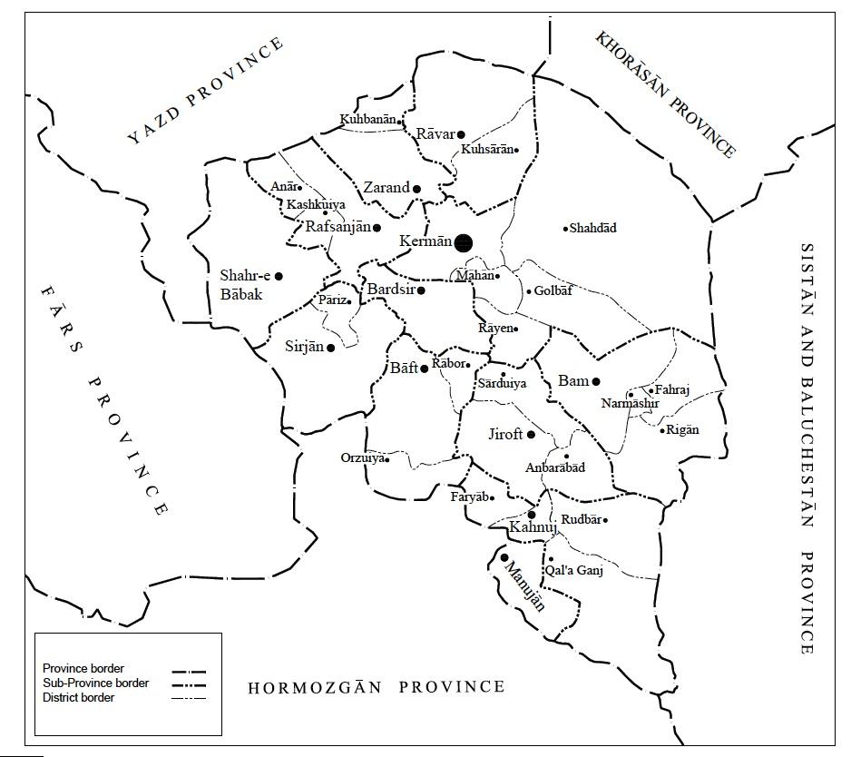 KERMAN i Geography Encyclopaedia Iranica