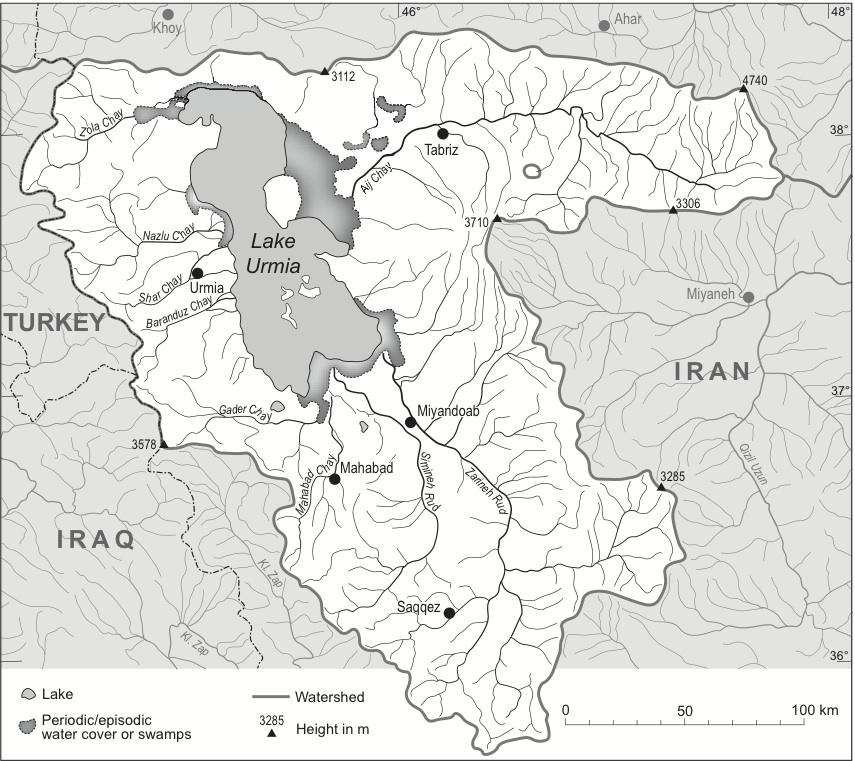 Urmia Lake Encyclopaedia Iranica