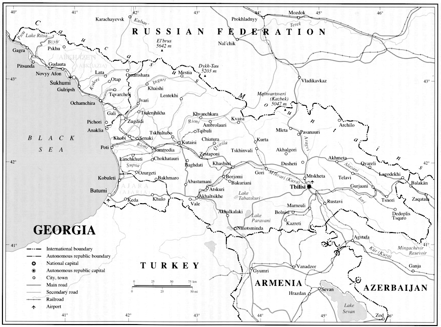 GEORGIA i The land and the people Encyclopaedia Iranica